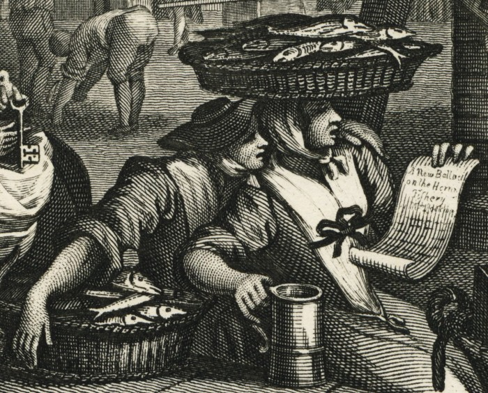 Fish Sellers - Hogarth