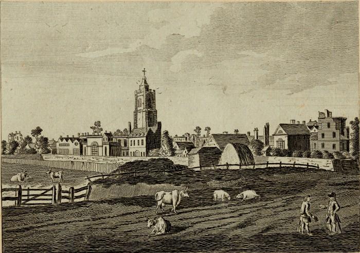 Hackney Village 1730